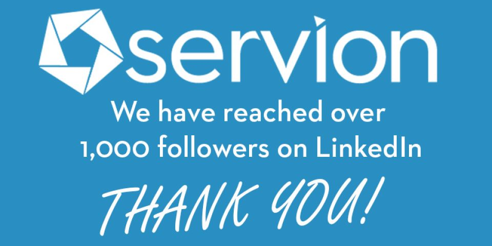 A Special Thank You for 1,000 LinkedIn Followers