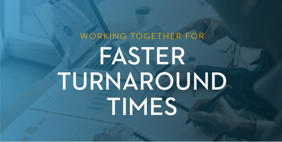 Blog Hero Working Together For Faster Turnaround Times 800X400