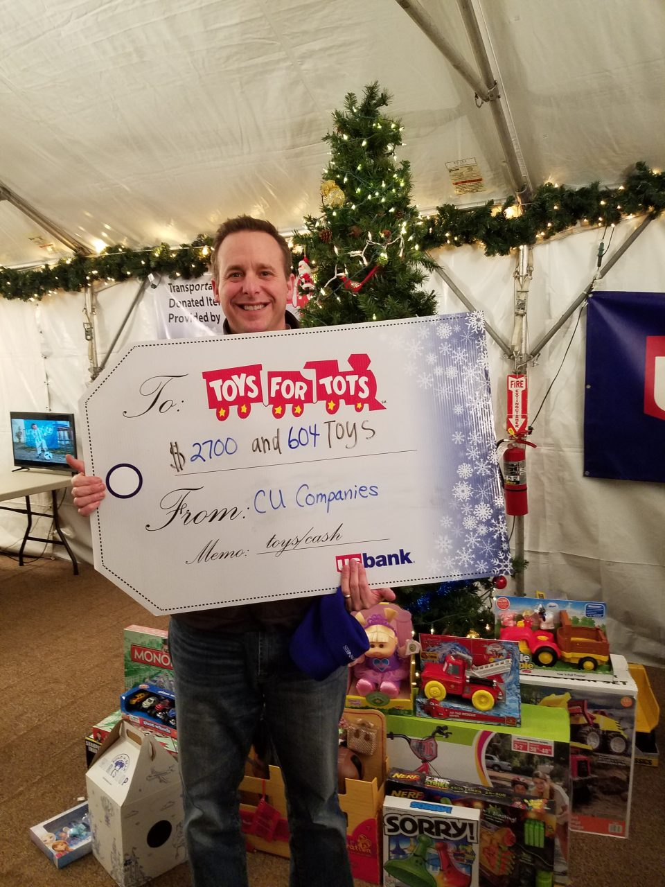 Brad Toys For Tots